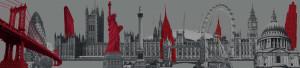 London and San Fran sykline