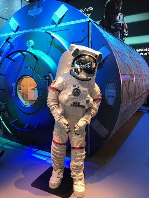 Liberty's Mobile World Congress 2018: Day Two and we're heading to the moon!