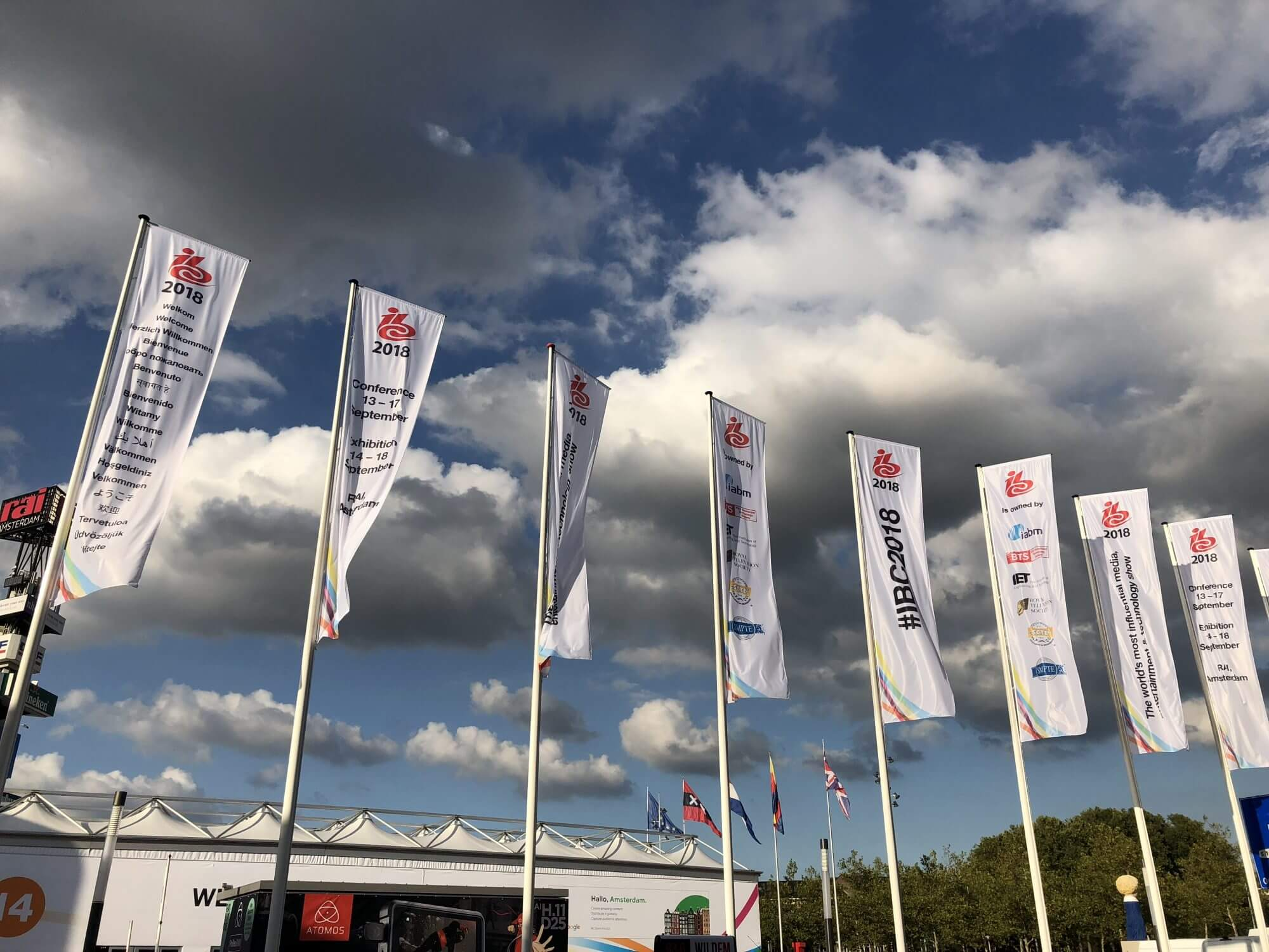 Liberty at IBC2018 – Day One: BBC, Beyoncé and Mr Bean