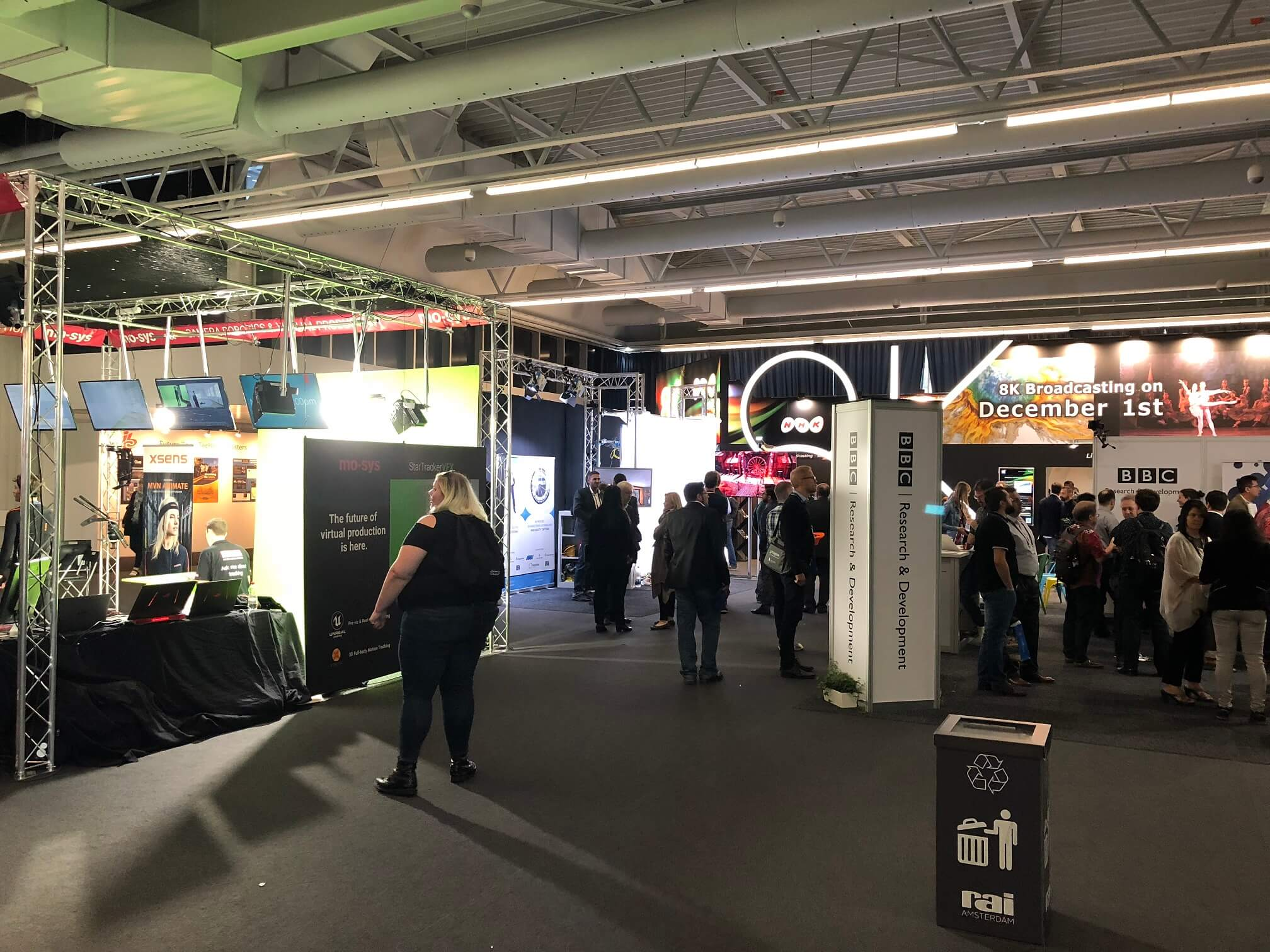 Liberty at IBC2018 – Day Four: From Sesame Street to Amsterdam