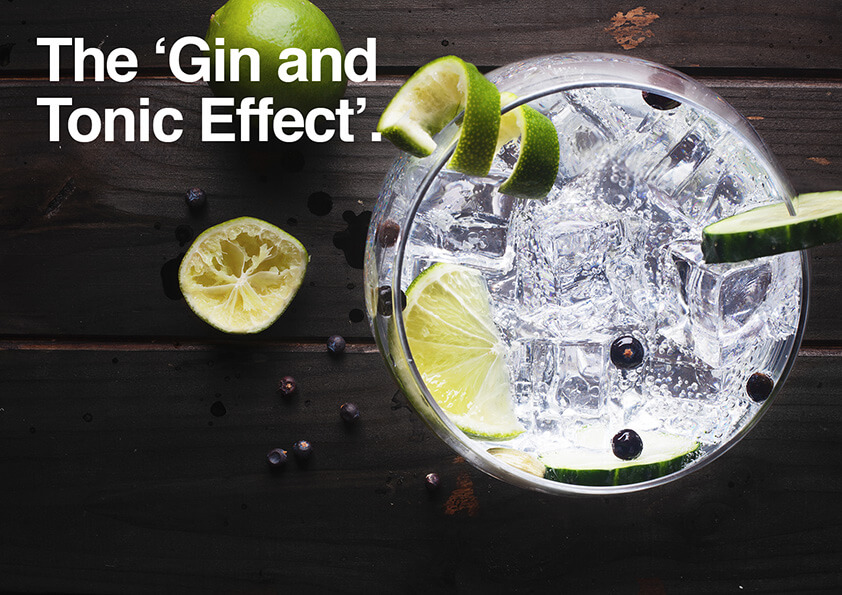 The 'Gin and Tonic Effect'